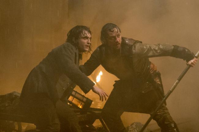 Daniel Radcliffe, James McAvoy Victor Frankenstein