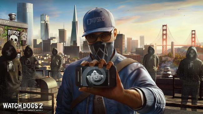 Watch Dogs 2 Marcus on Roof