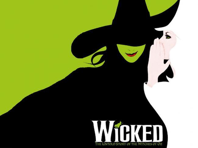 Stilisiertes Promoposter von Wicked