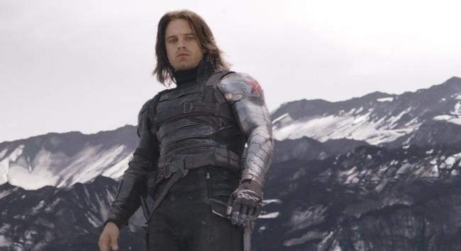 Sebastian Stan in The First Avenger: Civil War
