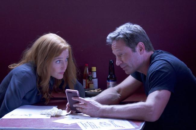Mulder und Scully in This