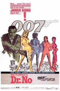 Filmposter James Bond jagt Dr. No