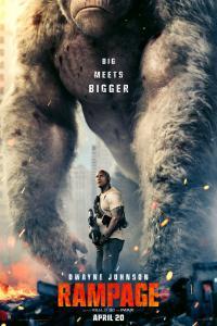 Rampage Dwayne Johnson Poster