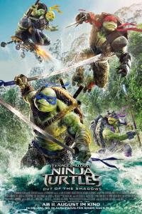 Teenage Mutant Ninja Turtles 2: Out Of The Shadows Poster