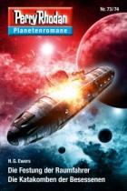 Perry Rhodan Planetrenromane 73/74, Titelbild, Rezension