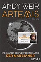 Artemis, Weir, Titelbild, Rezension