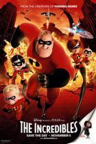 Die Unglaublichen - The Incredibles Filmposter