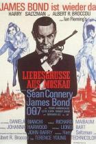 Filmposter James Bond 007 - Liebesgrüße aus Moskau