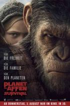 Planet der Affen: Survival - Teaser-Poster