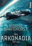 Das Arkonadia Rätsel, Titelbild, Rezension