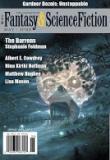 The Magazine of Fantasy and Science Fiction, 05/06 2018, Titelbild, Rezension