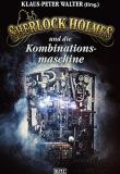 Sherlock Holmes und die Kombinationsmaschine, Titelbild, Rezension