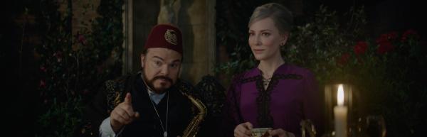 Jack Black & Cate Blanchett in Das Haus der geheimnisvollen Uhren