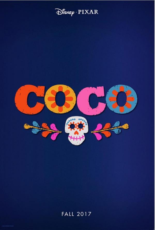Pixar's Coco Teaser-Poster