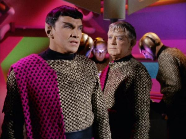 """Raumschiff Enterprise: Szenenbild aus der Episode """"Balance of Terror"""""""