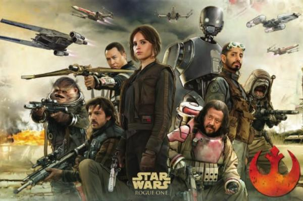Rogue One: A Star Wars Story - Postermotiv