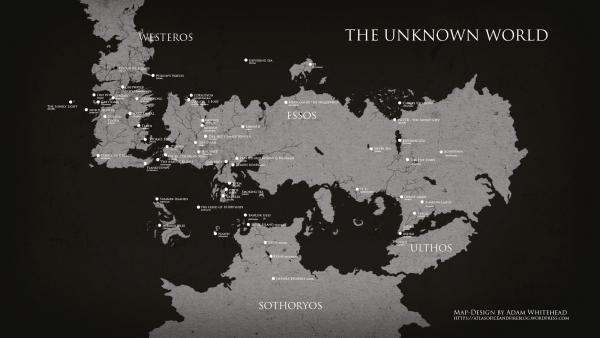 Unseen Westeros Exhibition Map