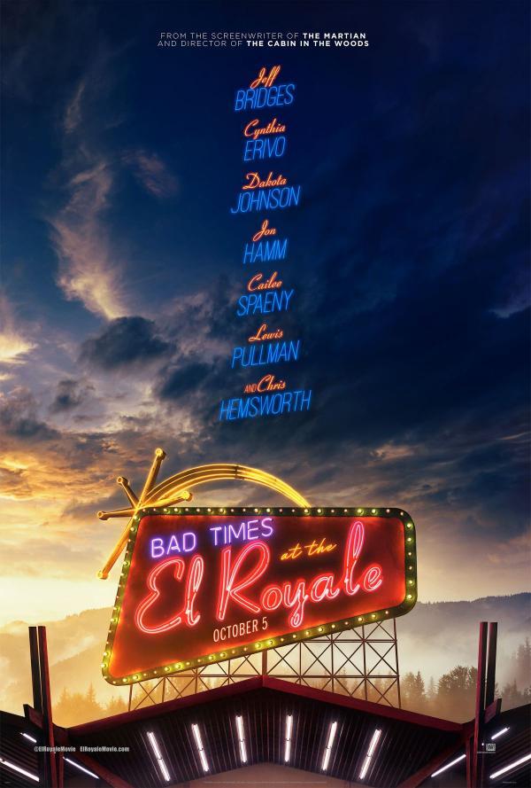 Bad Times at the El Royale Poster