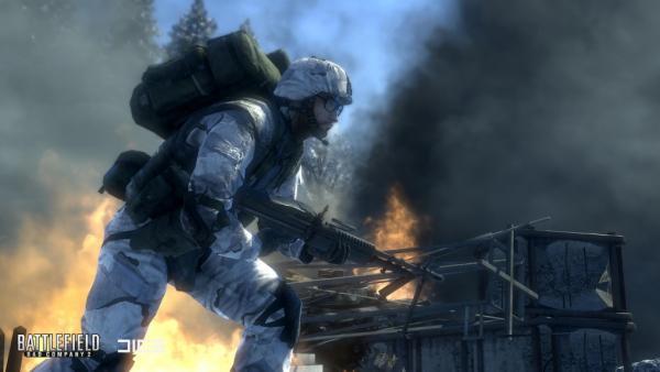 Battlefield Bad Company 2 Promo Wallpaper