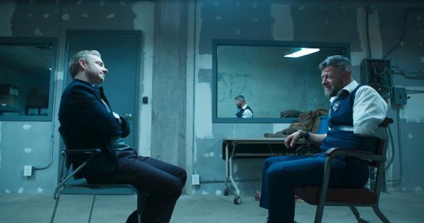 Martin Freeman & Andy Serkis in Black Panther