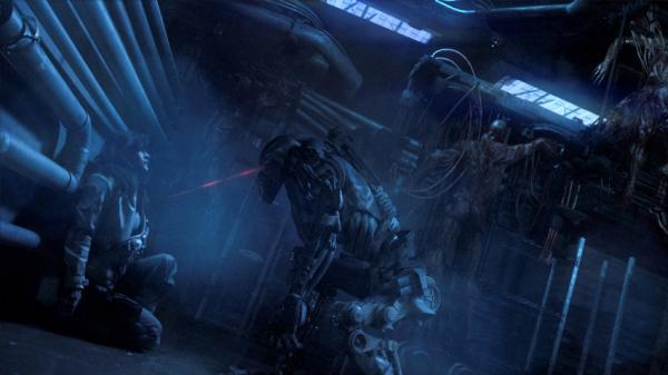 Zylone trifft Mensch in Battlestar Galacitca: Blood & Chrome