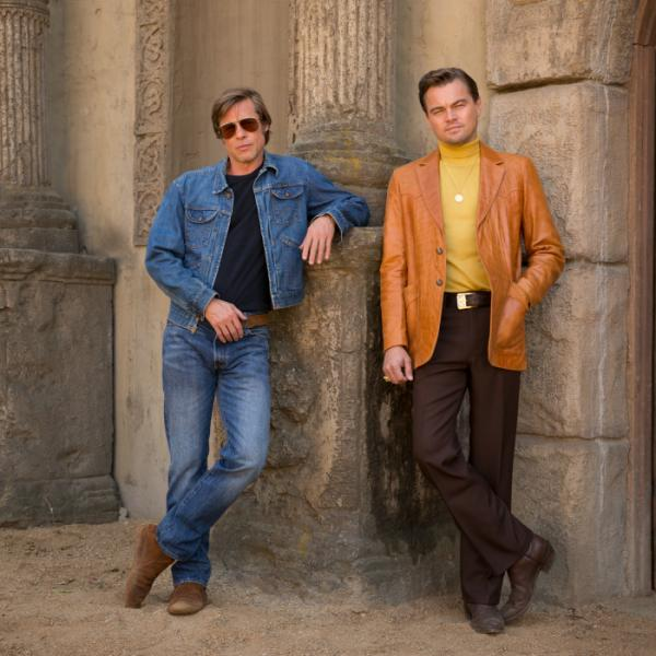 Brad Pitt & Leonardo DiCaprio in Once Upon a Time in Hollywood