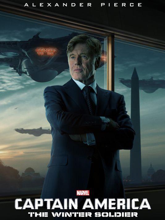 Robert Redford als Alexander Pierce
