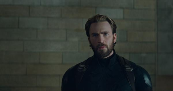 Chris Evans als Captain America in Avengers: Infinity War