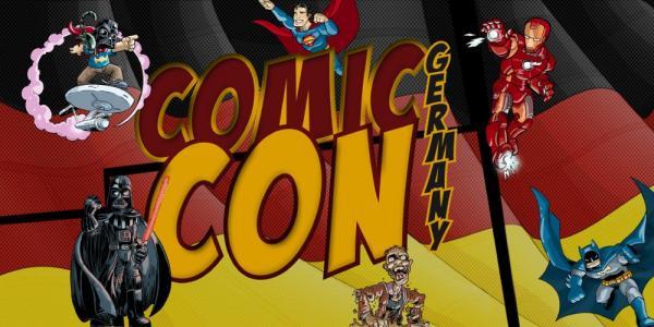 Logo der Comic Con Germany