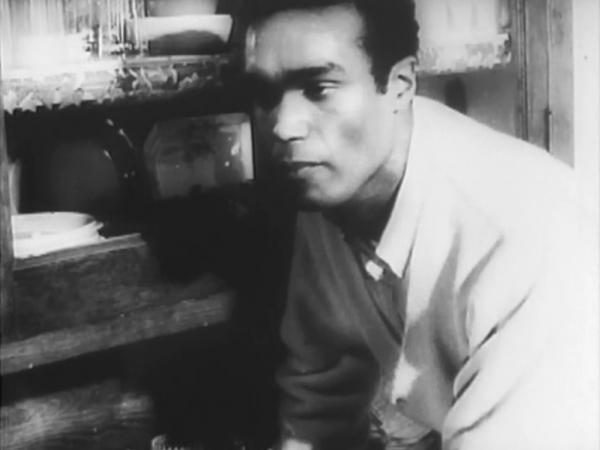 Duane Jones as Ben in Night of the Living Dead