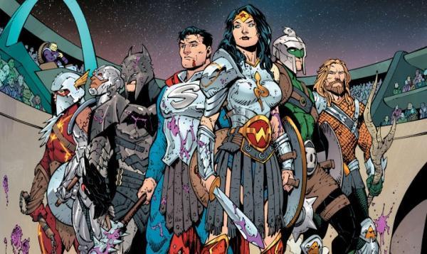 Dark Nights: Metal Justice League