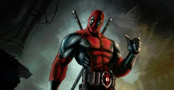 Deadpool Comic Cover