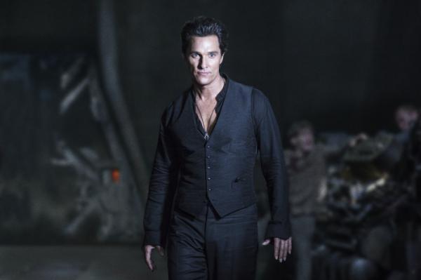 Matthew McConaughey als der Mann in Schwarz