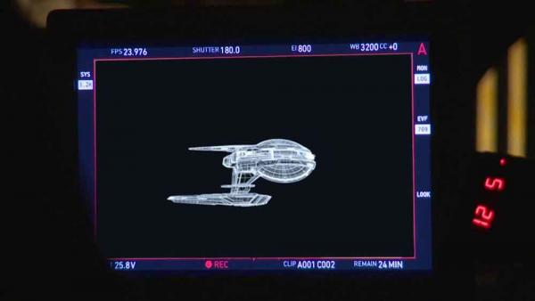 Screenshot aus dem Teaser zu Star Trek: Discovery