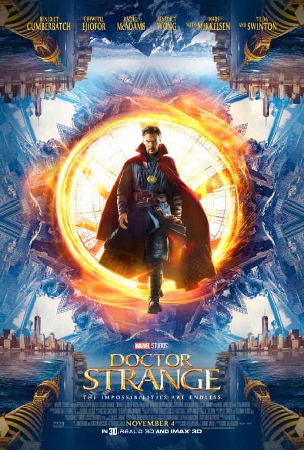 Benedict Cumberbatch als Doctor Strange auf dem zweiten Promoposter zu Marvels Doctor Strange