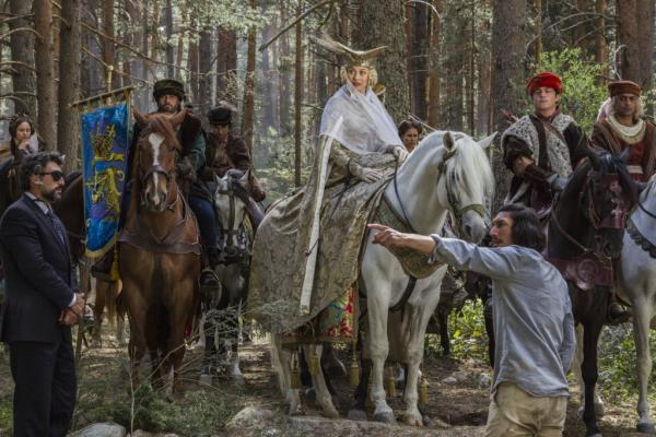 Adam Driver Jonathan Price Don Quixote Still
