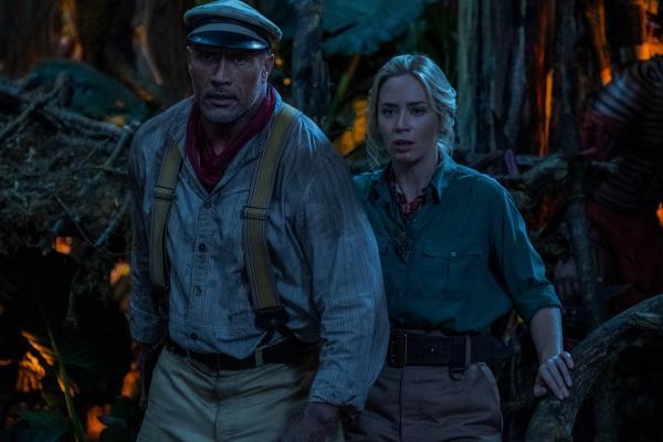 Dwayne Johnson & Emily Blunt in Jungle Cruise