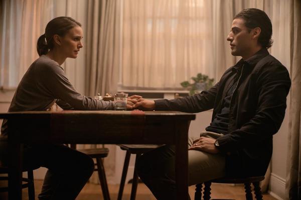 Natalie Portman und Oscar Isaac in Annihilation