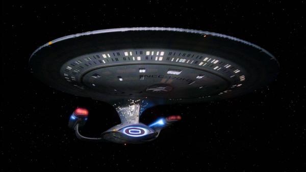 Enterprise-D aus Star Trek: The Next Generation