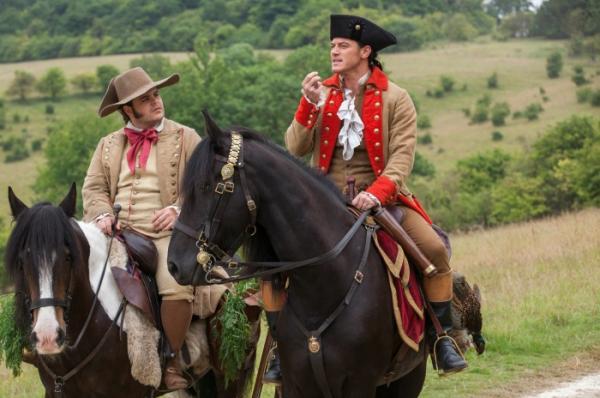 Luke Evans als Gaston
