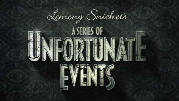 Lemony Snicket's A Series of Unfortunate Events Netflix Logo