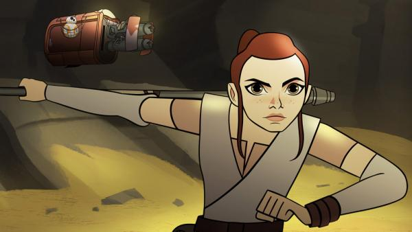 Rey Star Wars Forces of Destiny
