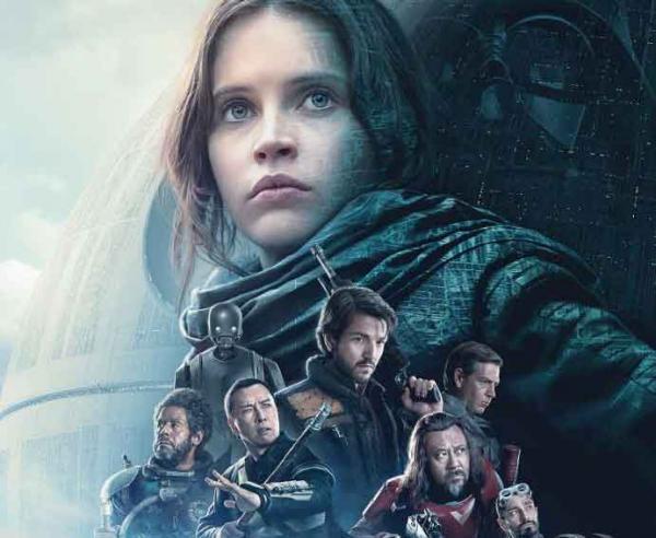 Offizielles Postermotiv zu Rogue One: A Star Wars Story
