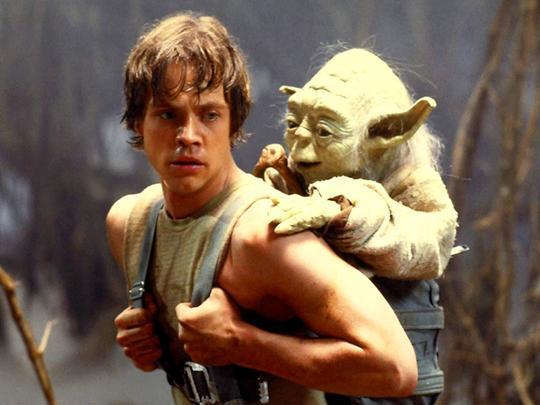 Luke Skywalker & Yoda