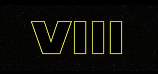 Star Wars Episode 8 Logo
