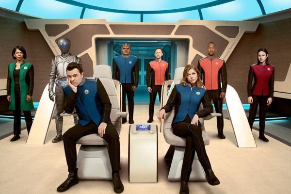 Erstes Promobild zu Seth McFarlanes Sci-Fi-Comedy-Serie The Orvelle