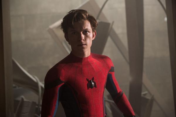 Tom Holland als Spider-Man