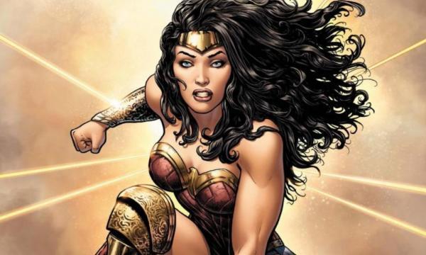 Wonder Woman Comic Cover