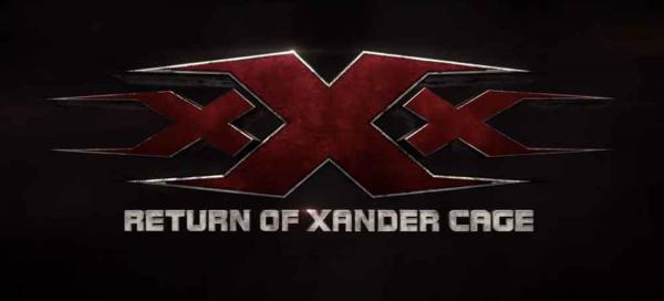 xXx 3: The Return of Xander Cage Logo