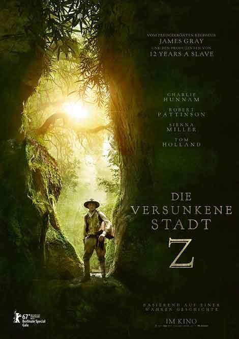 Die versunkene Stadt Z Poster